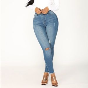 Fashion Nova Jeans - Distressed Jeans